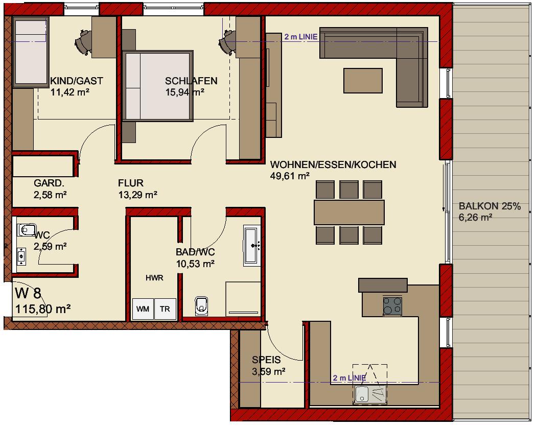 Wohnungen / Tiefgarage - Boch Projekte